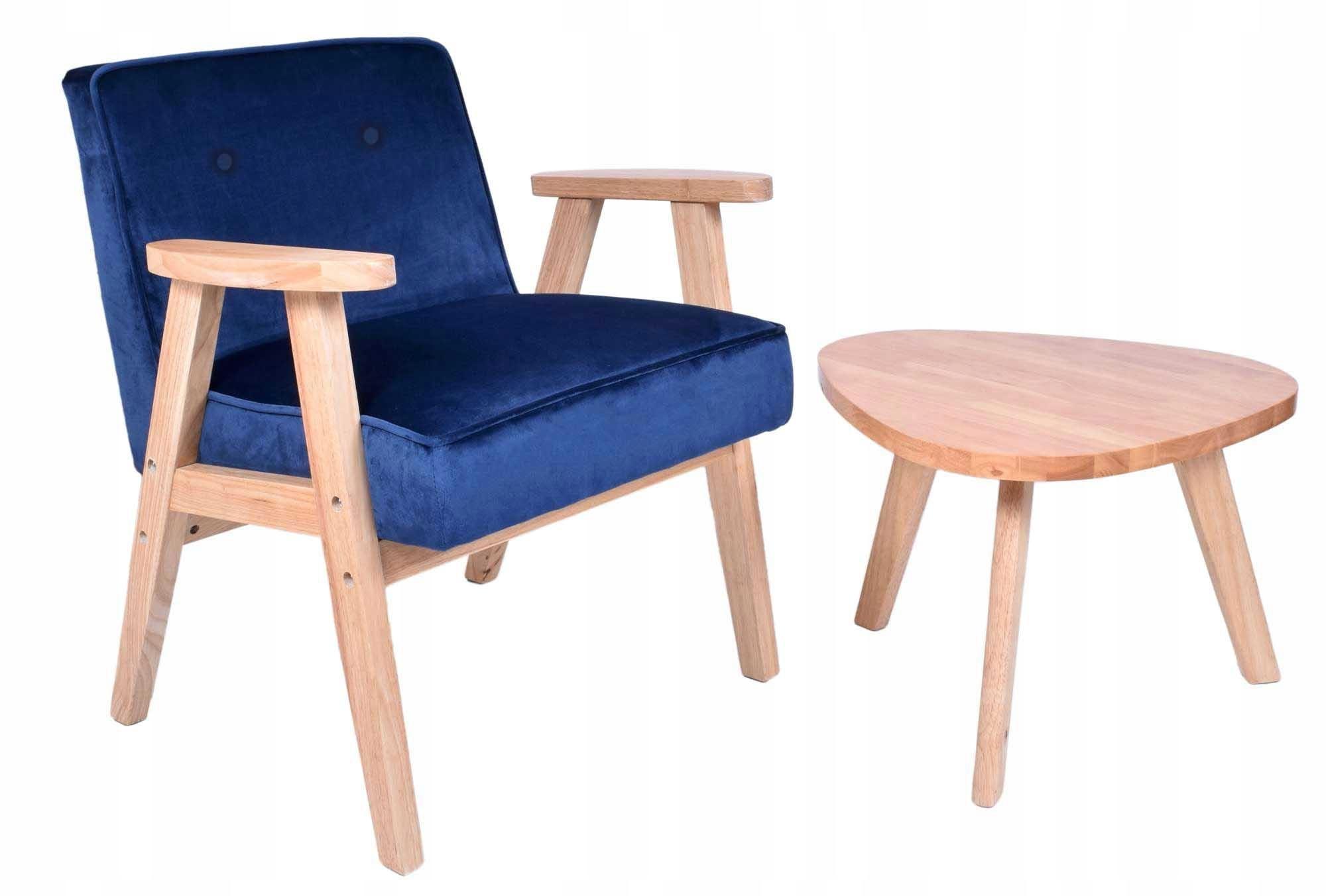 Stolička Retro textílie Velvet 4 farby