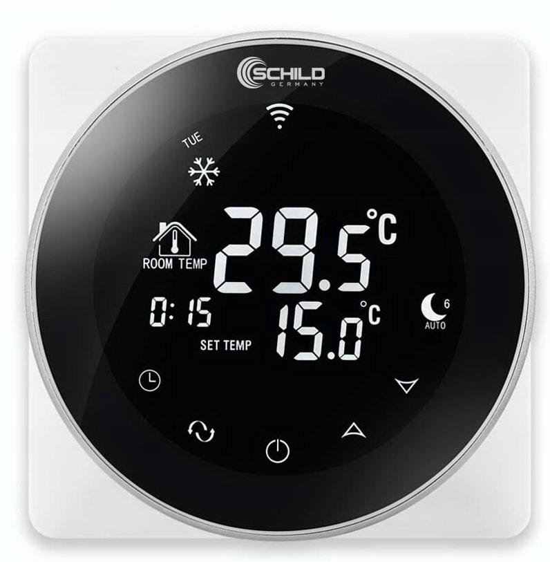 Комплект нагревательного мата WiFi 10м2 200Вт / м2, ширина фольги 50 см.