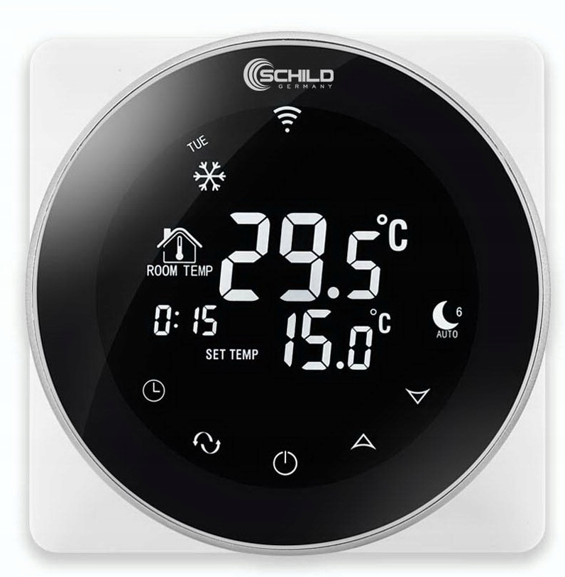 Комплект нагревательного мата WiFi 2,5 м2 200Вт / м2 Ширина фольги 50 см.