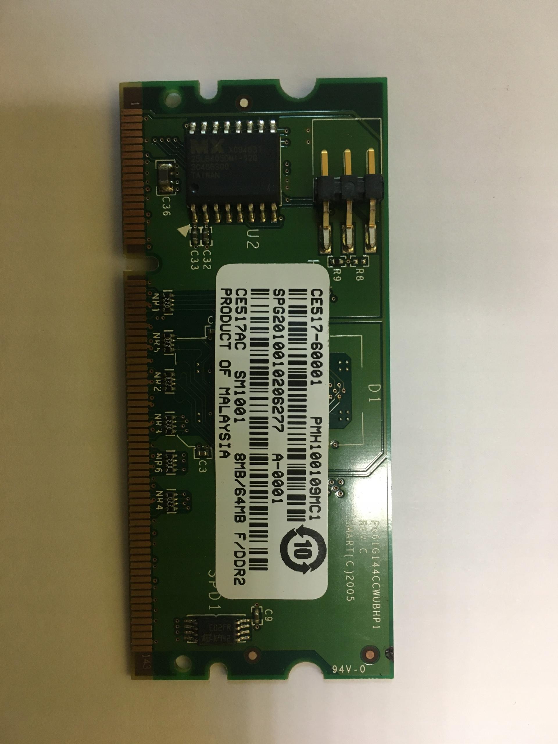 Pamäť RAM pre HP LaserJet P2015N P2015DN