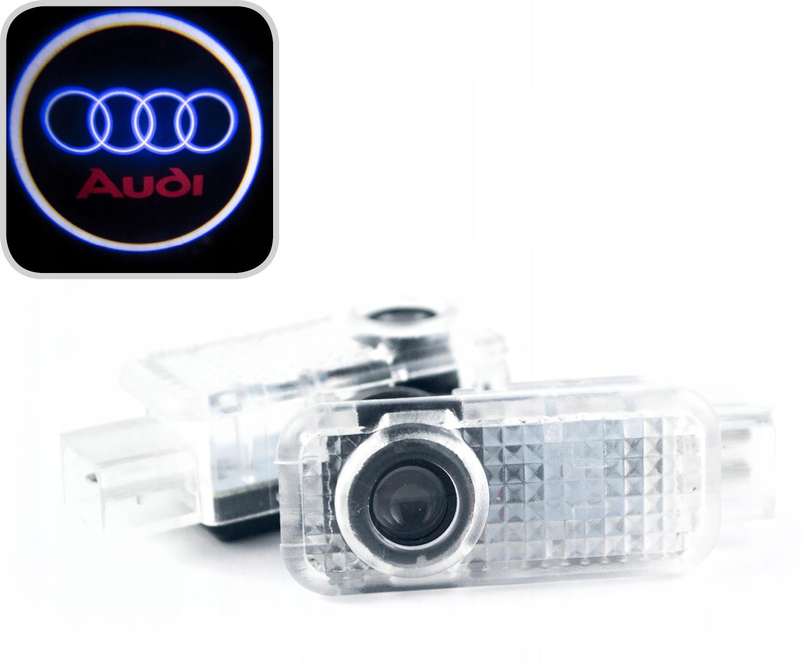 audi led логотип hd проектор a3 a4 a5 a6 a8 q3 q5 q7