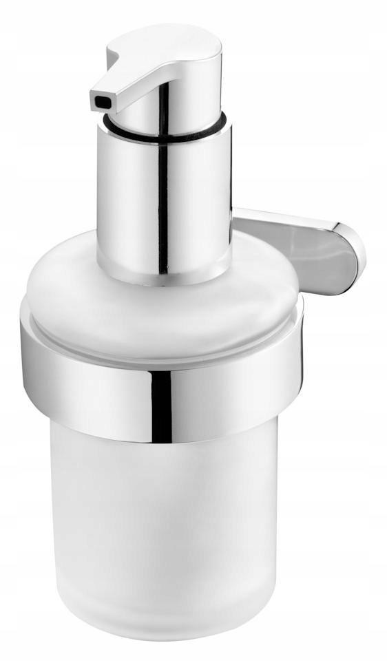 Závesný chrómovaný dávkovač tekutého mydla