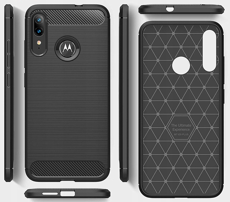 Etui do Motorola Moto E6 Plus Pancerne Case +Szkło Kod producenta C155A