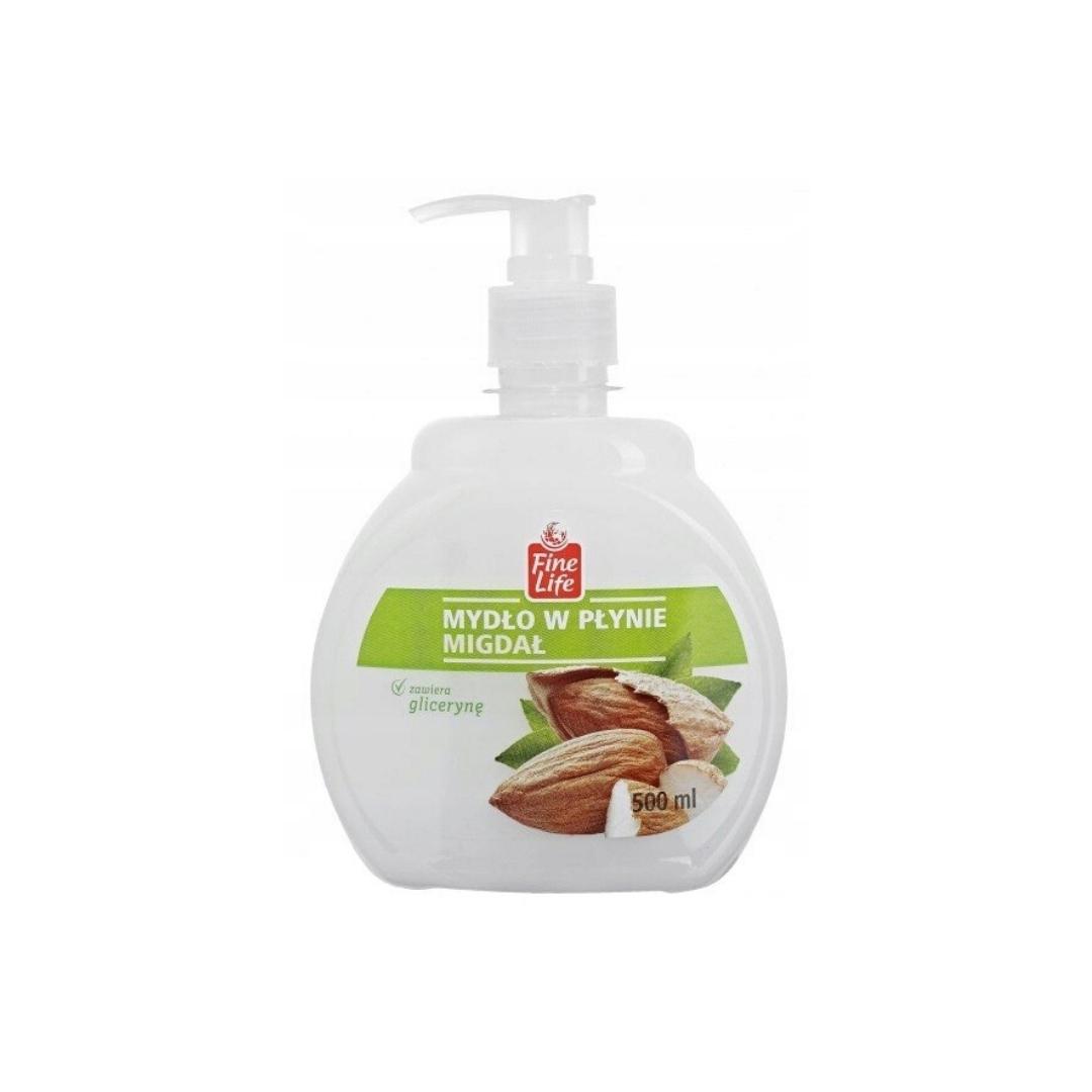 Жидкое мыло с распылителем 0,5 л с Глицерином, Миндальное