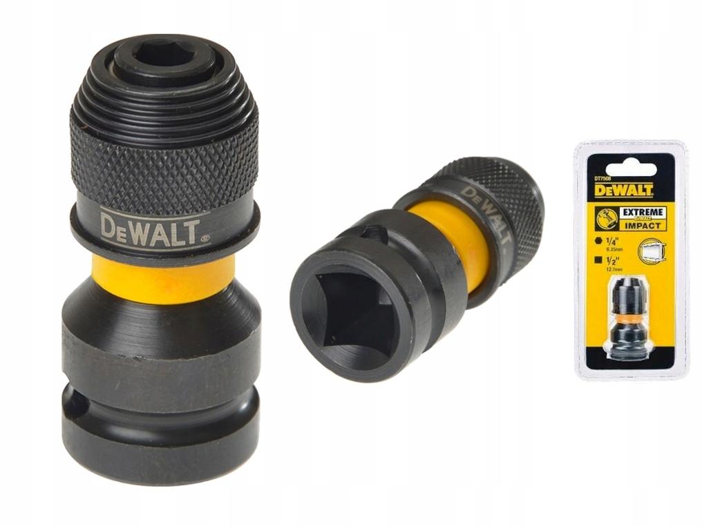 DeWALT DT7508 rázový adaptér na kľúč 1/2 až 1/4