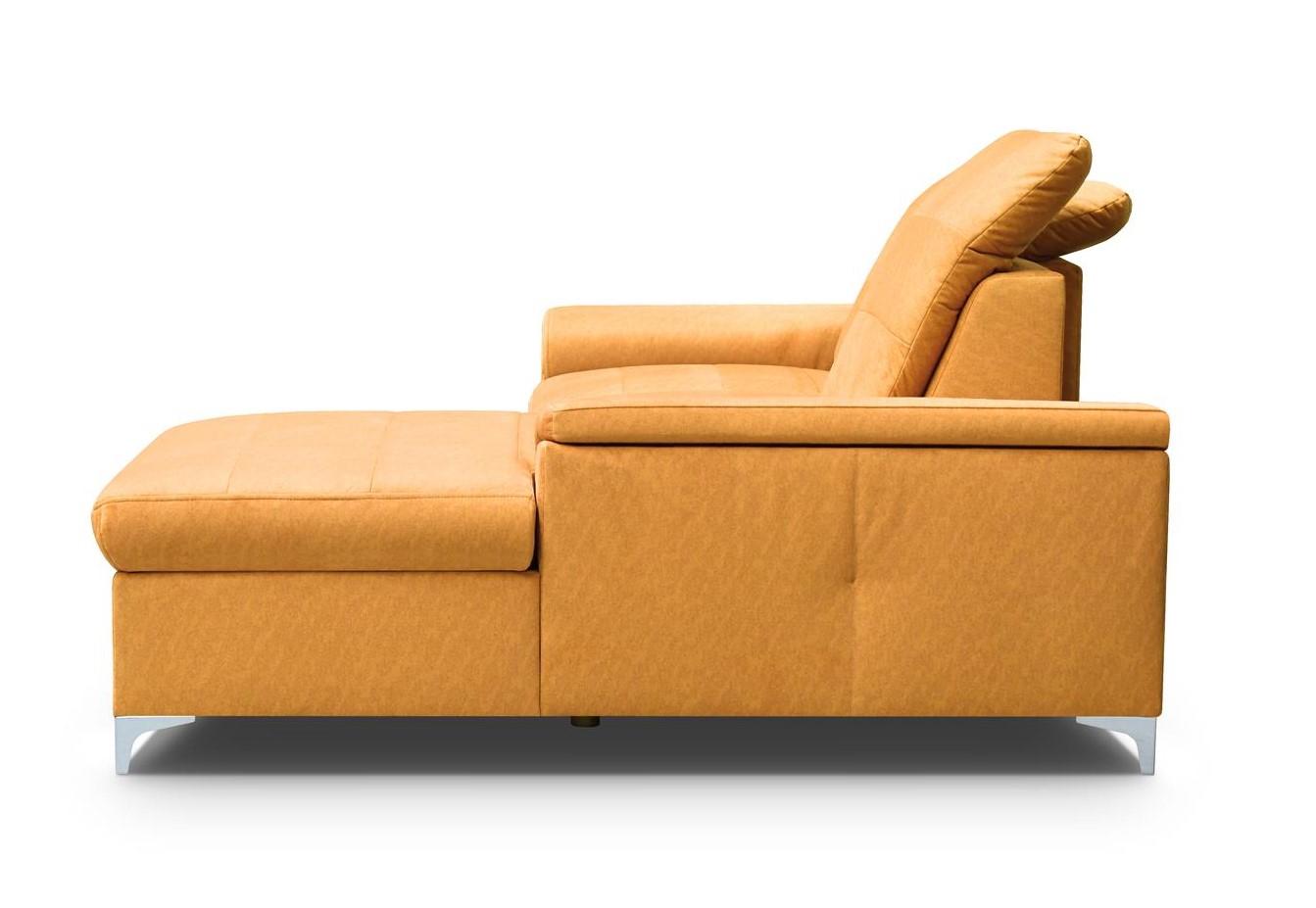 Ecke Bergamo Mini in einem modernen Stil. Möbelbreite 254 cm