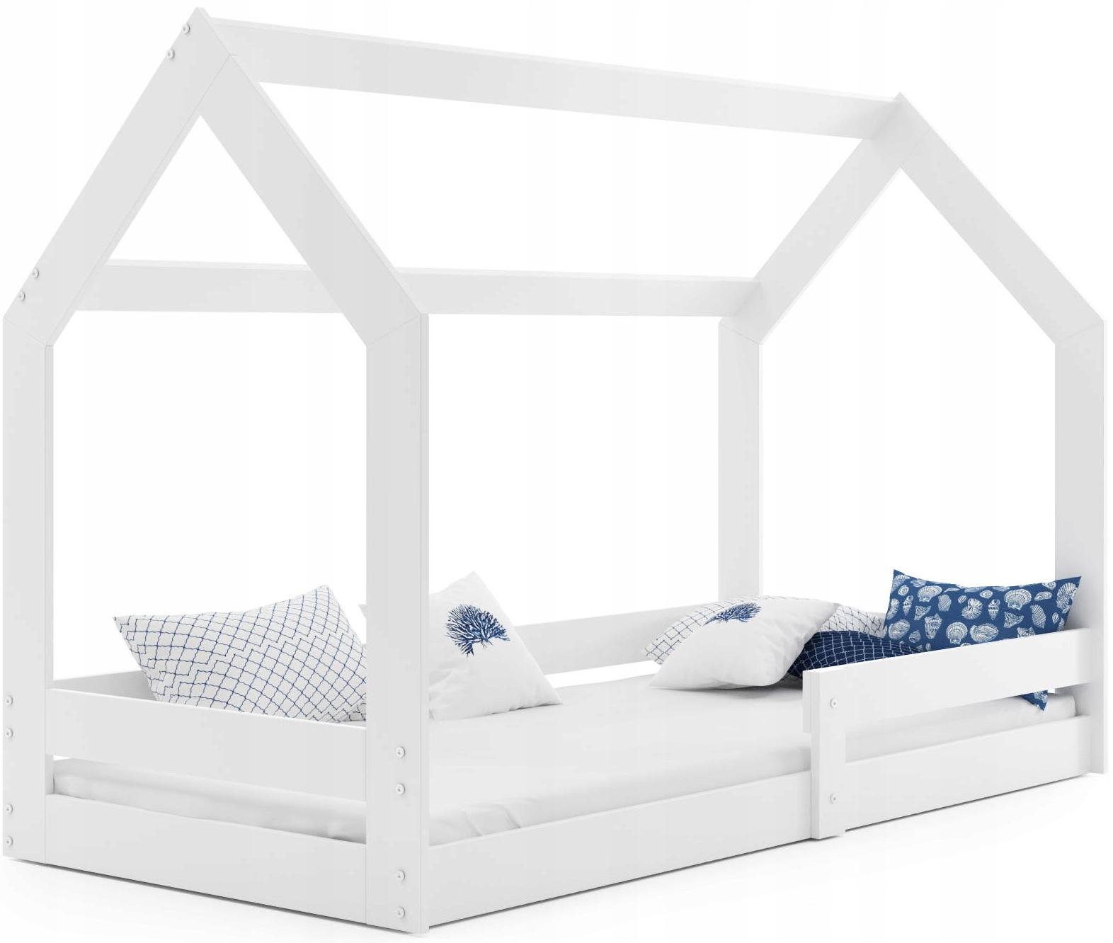 Łóżko dziecięce Domek1 stelaż materac od INTERBEDS