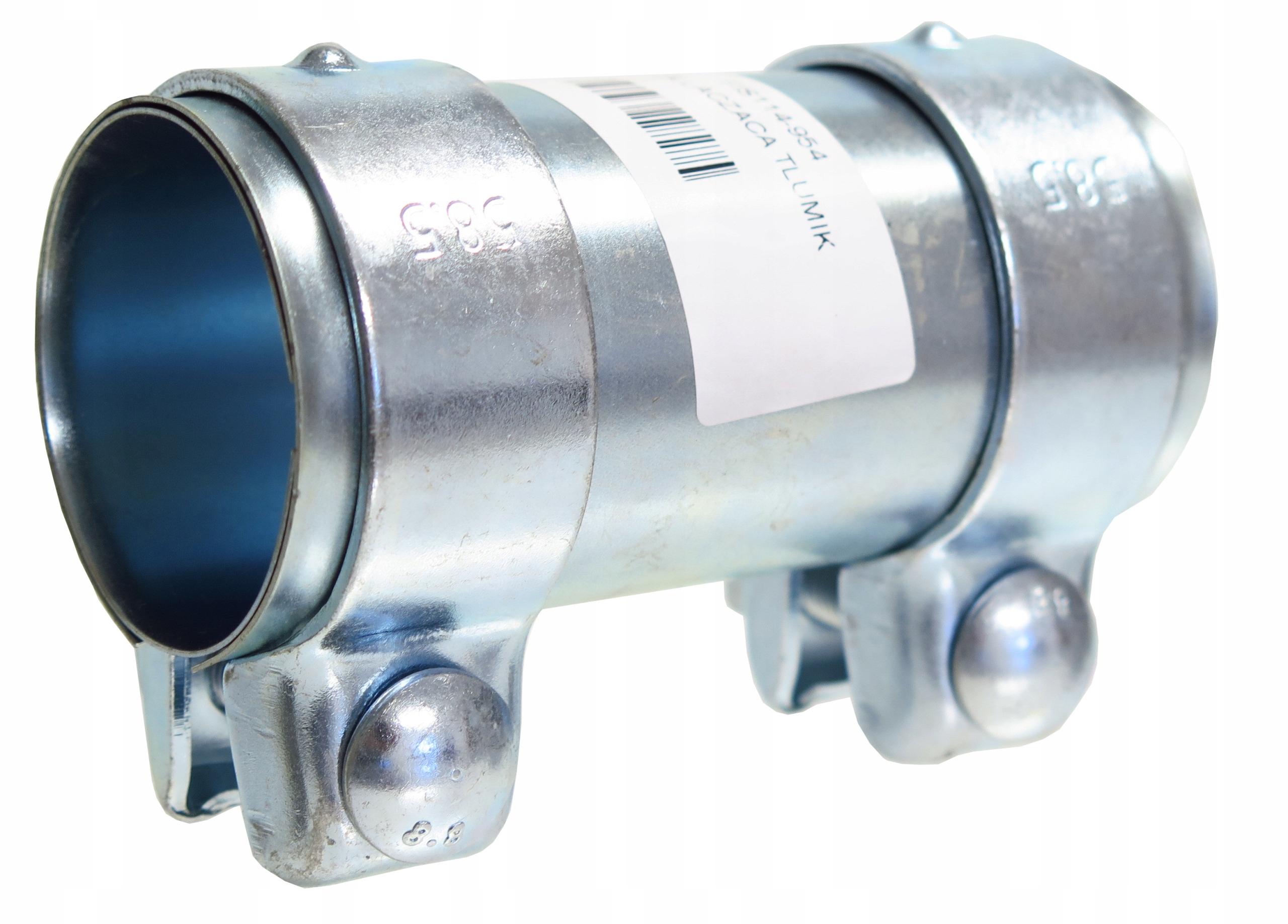 разъем Соединитель трубы зажим 54 мм Сочетает в себе две трубы