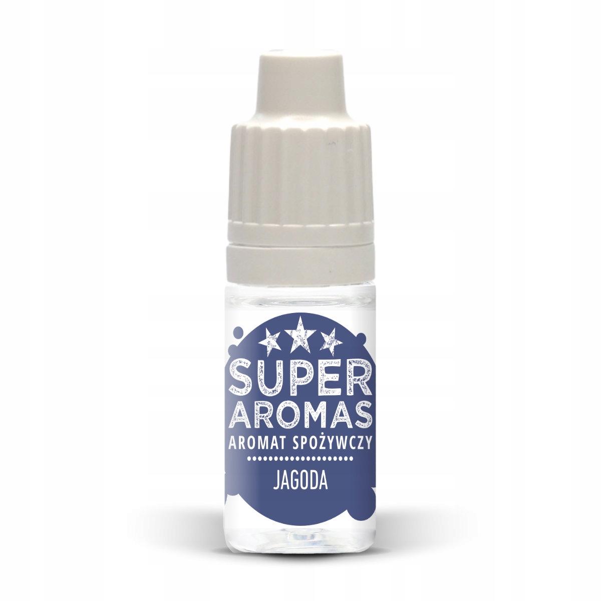 SUPER AROMAS Aromat spożywczy jagoda 10 ml