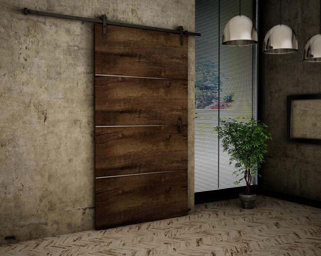Nástenné posuvné dvere Ash RT100 Plus 100 cm