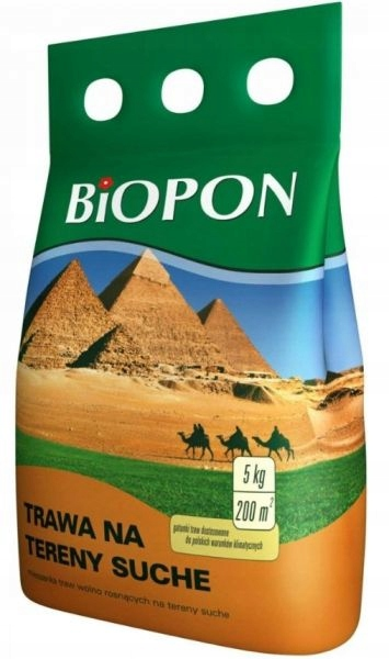 Trawa na tereny suche Biopon 5 kg