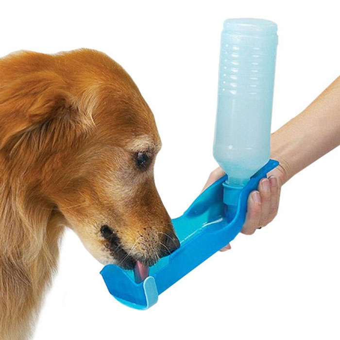 Туристическая бутылка Чаша для бутылки с водой Поилка для собак