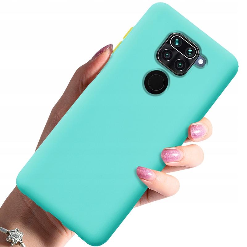 Etui do Xiaomi Redmi Note 9 Case Silikon + Szkło Dedykowany model Xiaomi Redmi Note 9