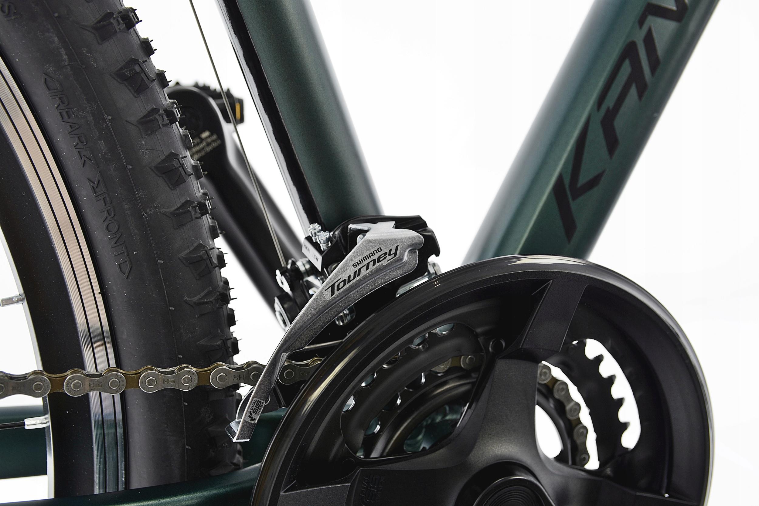 KANDS THE ONE rower mtb 29 VB altus 19 zieleń 2021 Kod producenta THE ONE ALTUS 2021 M19 CIEMNOZIELONY