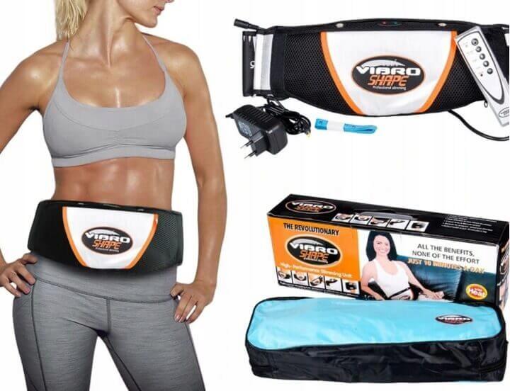 Vibračné pásové vibračné masážne chudnutie