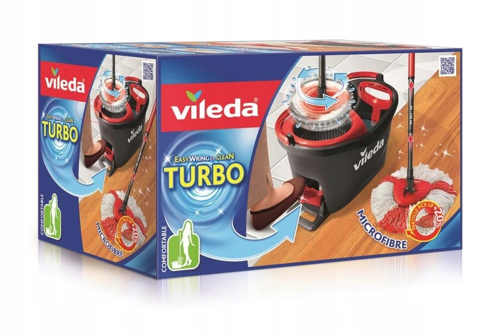 Jednoduché Vyžmýkajte a Čisté mop Turbo rotačné koleso