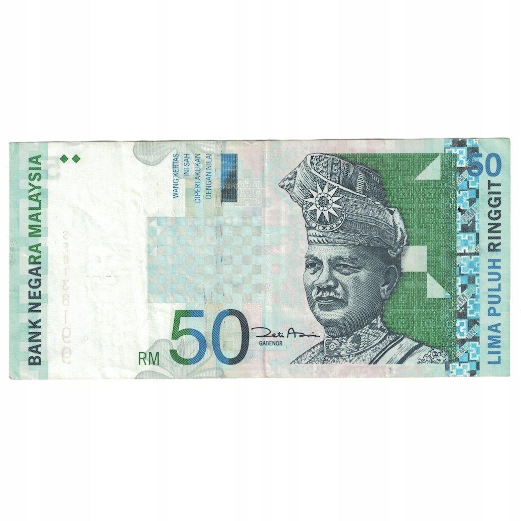 Банкнота, Малайзия, 50 ринггит, без даты (2001), КМ: 4