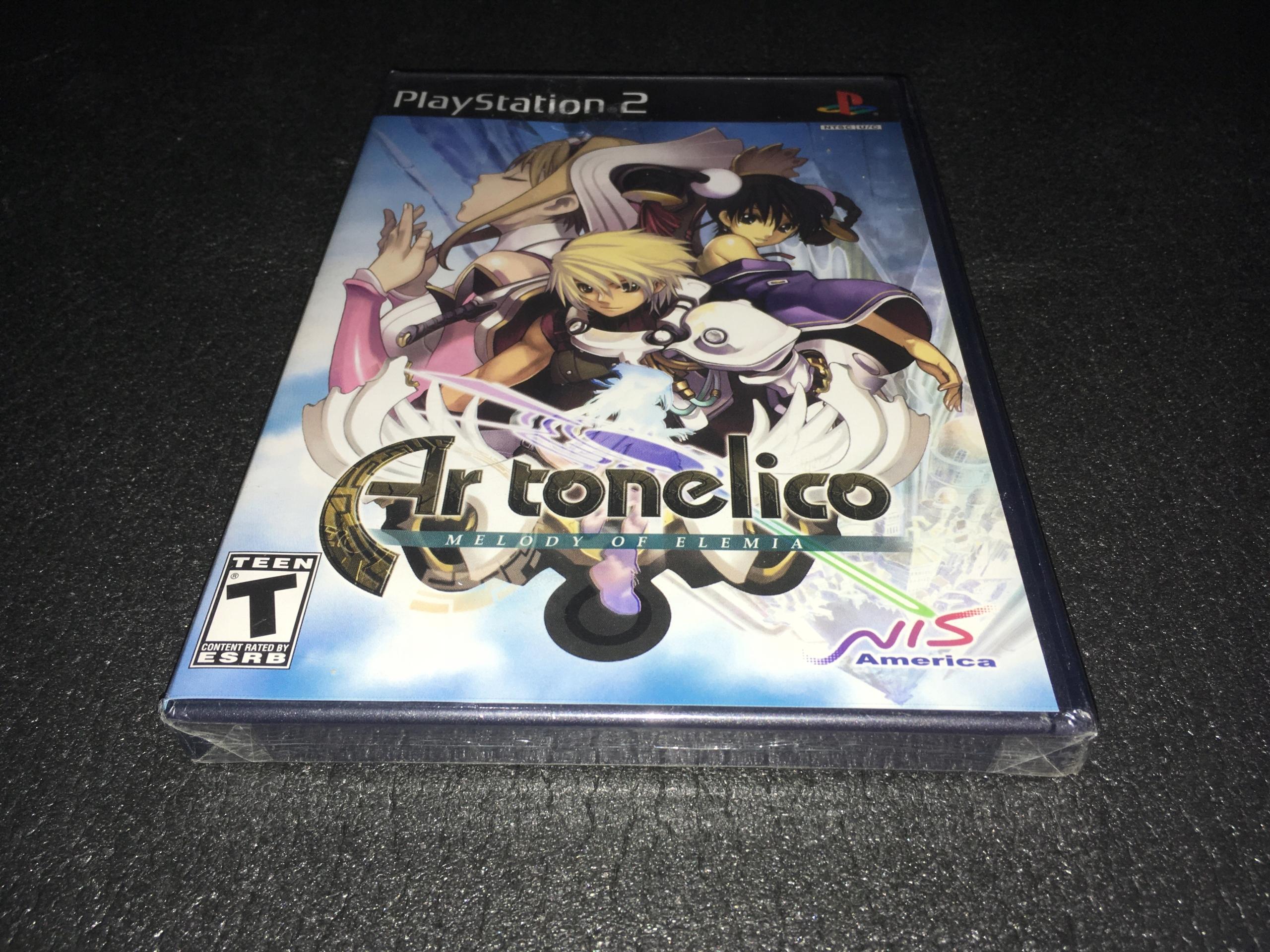 Ar Tonelico Melody of Elemia / PS2 / NTSC-USA