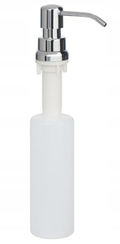 Dozownik do zlewu na płyn do naczyń kolor CHROM