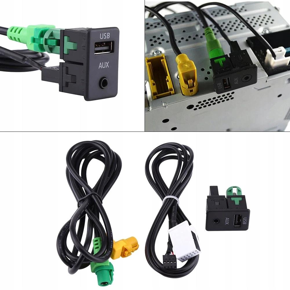 адаптер aux гнездо usb bmw e87 e90 e60 x1 x3 x5
