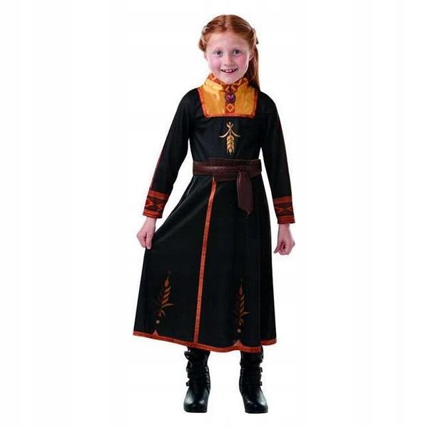 Outfitový kostým pre deti Anna Frozen 2 8-10 rokov