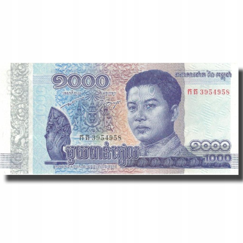 Банкнота, Камбоджа, 1000 риелей, 2016, UNC (63)
