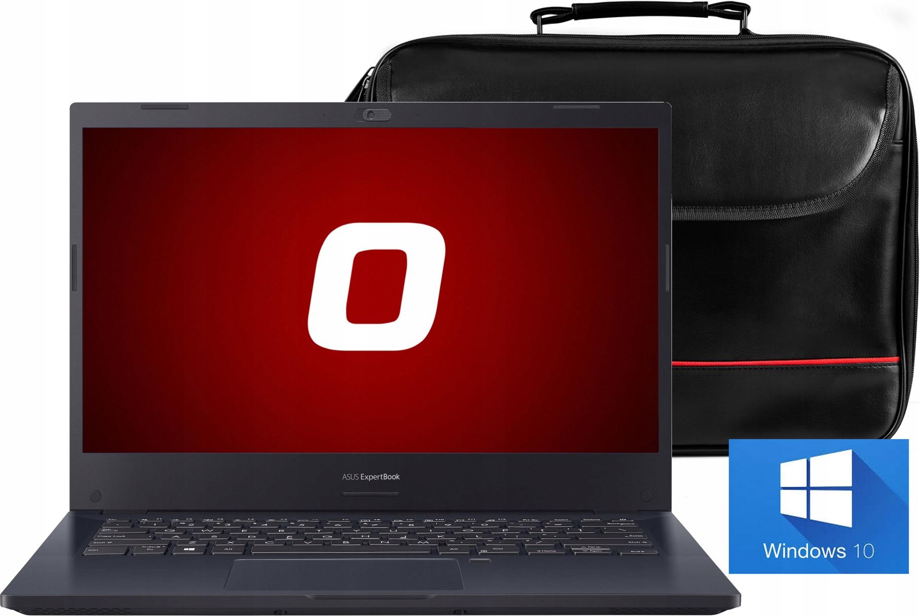 LAPTOP ASUS BIZNESOWY CORE i3 8GB SSD256 Win10
