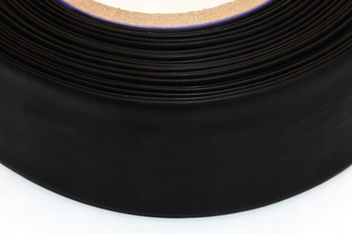Rurka termokurczliwa 50mm czarna 1m