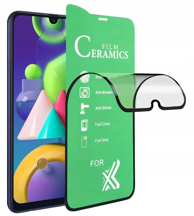 Szkło Hybrydowe cały ekran do Samsung Galaxy M21