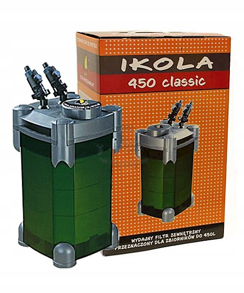 Внешний фильтр IKOLA 450 для аквариумов до 450л