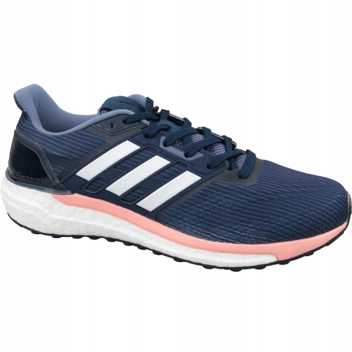 Adidas sportowe damskie granatowe r.38