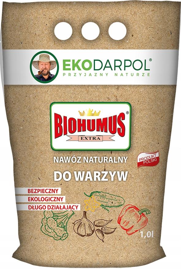 Biohumus extra СЫПУЧИХ 1л для Овощей EKODARPOL