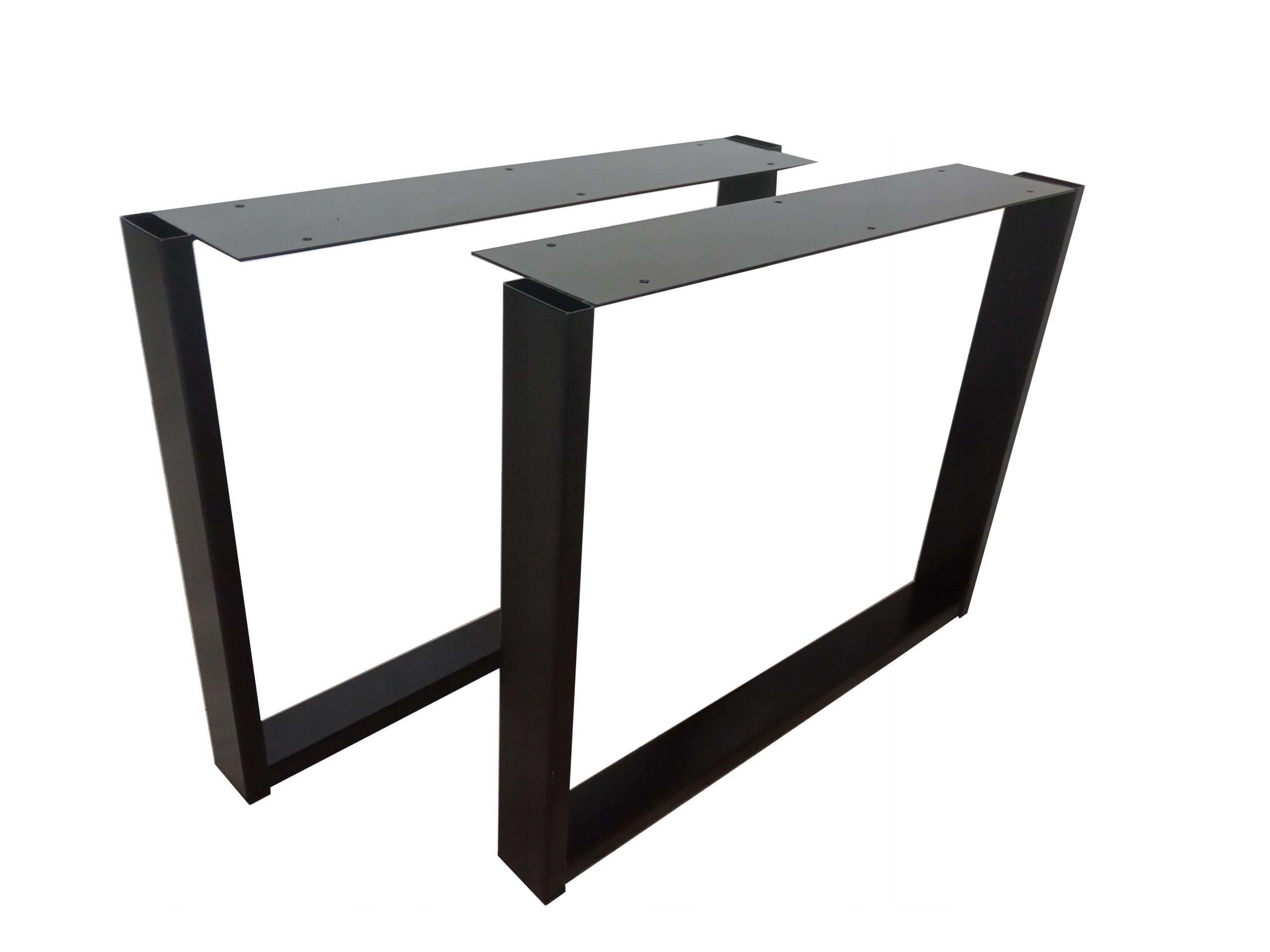 Noga stolika kawowego, ławy czarna NG-023.81/ 9005