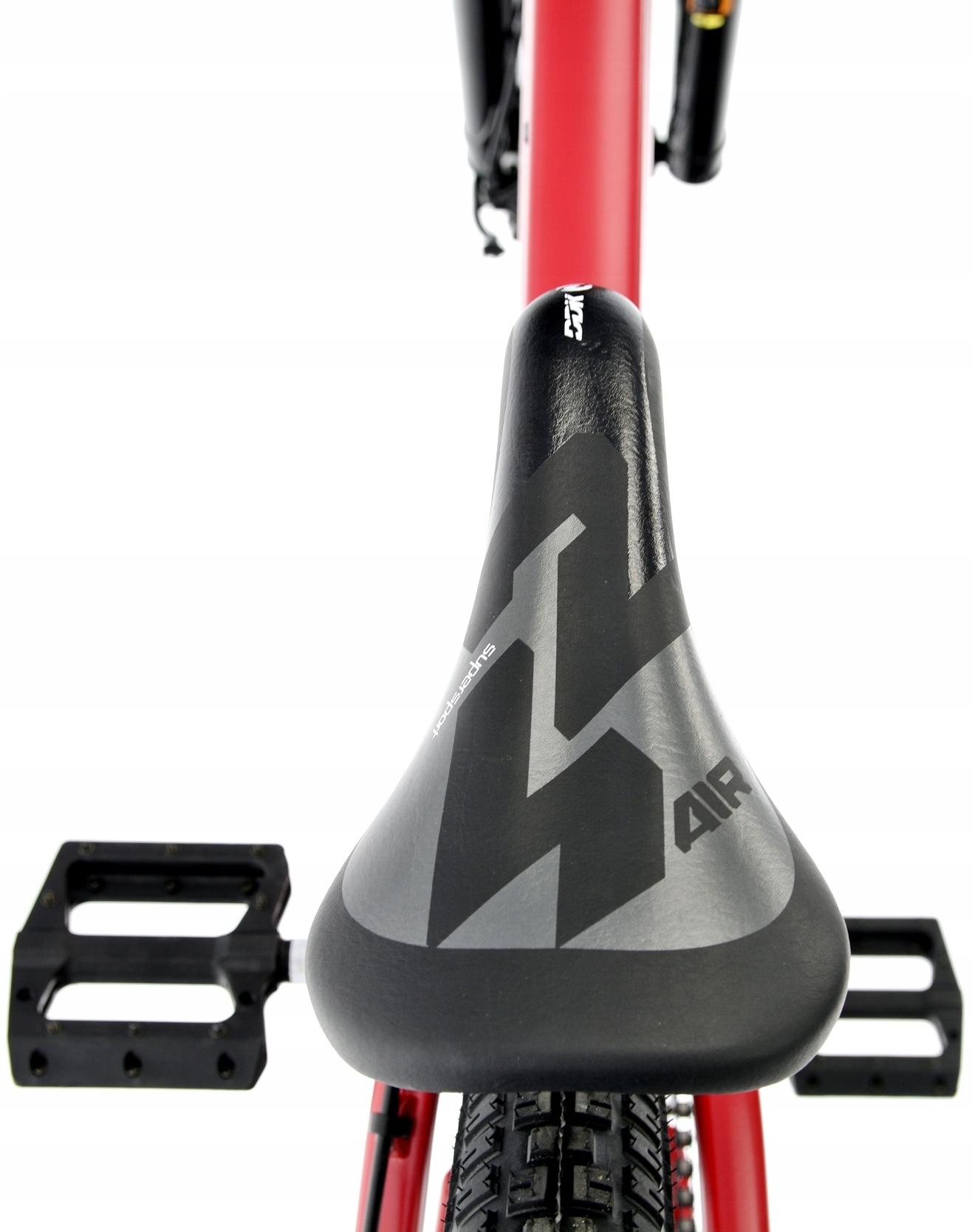 Rower Kands 26 DIRT COLT V2 13 CZERWONY R21 Materiał ramy aluminium