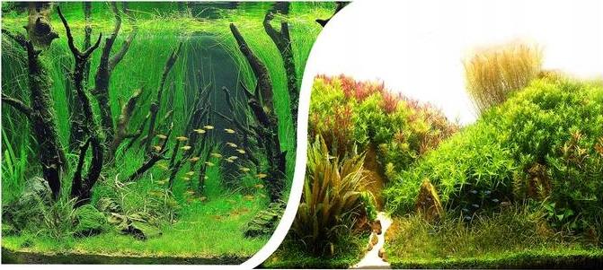 Happet Pozadie akvária bilaterálne 40 cm / 15 m T102