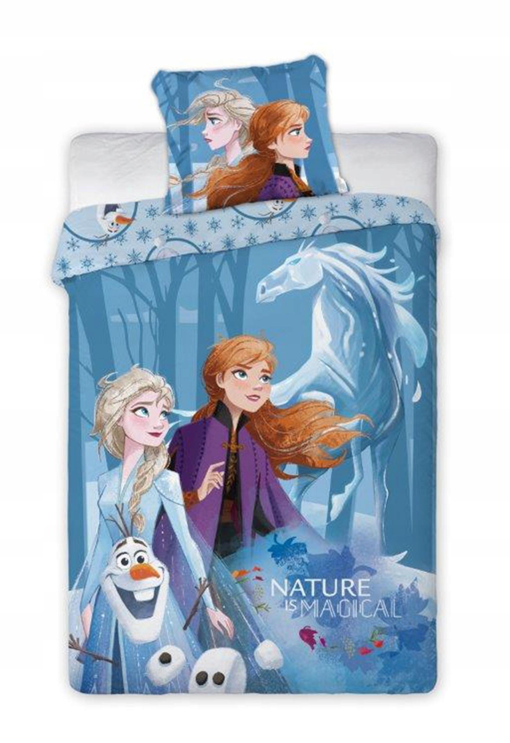 160x200 2ks Posteľná bielizeň vyrobená z bavlny Frozen