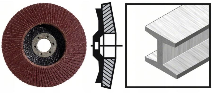 BOSCH Listkowa tarcza szlifierska 125mm P40 10SZT EAN 3165140744072