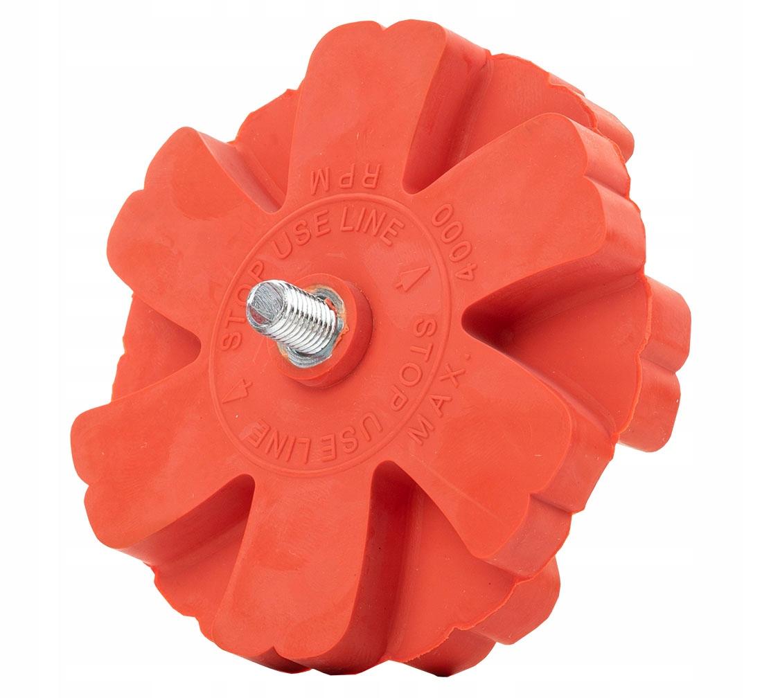Ребристый резиновый диск для удаления клея с дисков