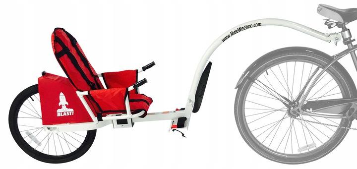 Przyczepka rowerowa dla 1 dziecka Weehoo iGo Blast Przeznaczenie dla dzieci