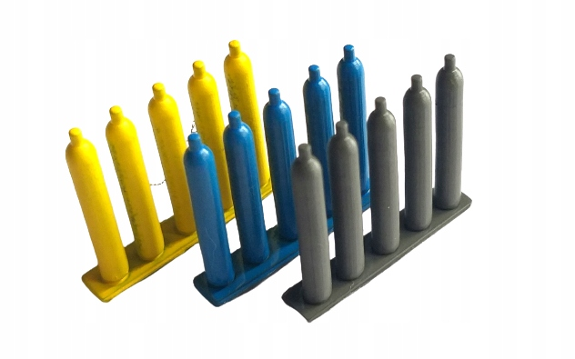 H0 - Butle spawalnicze 15 sztuk MODEL HO 1:87