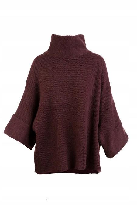 Mango Sweter damski z domieszką wełny One Size