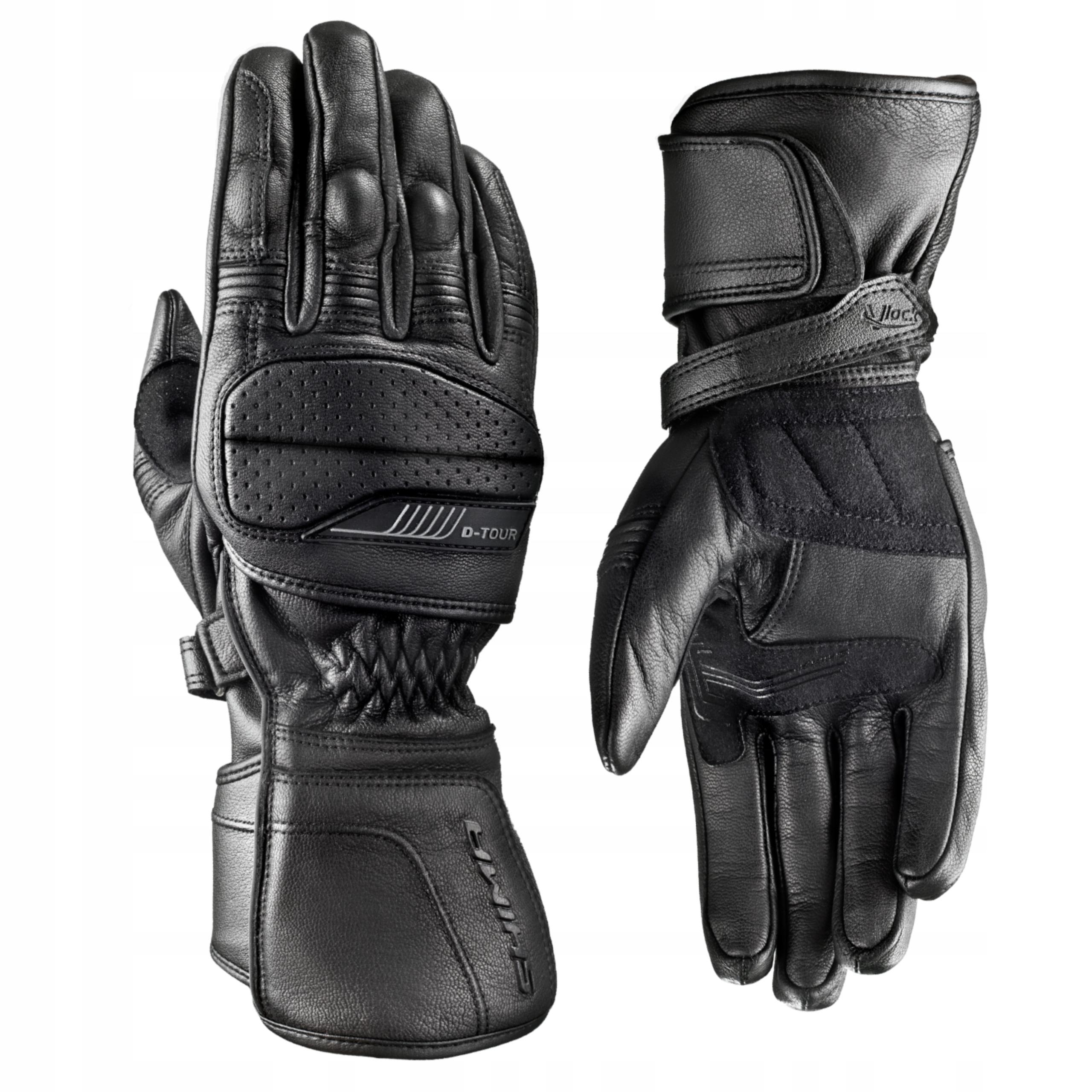 Мотоциклетные перчатки SHIMA D-TOUR BLACK БЕСПЛАТНО