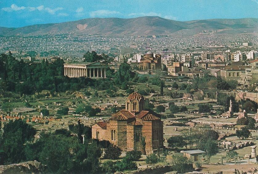 GRECJA - ATENY - ŚWIĄTYNIA HEFAJSTOSA - UNESCO