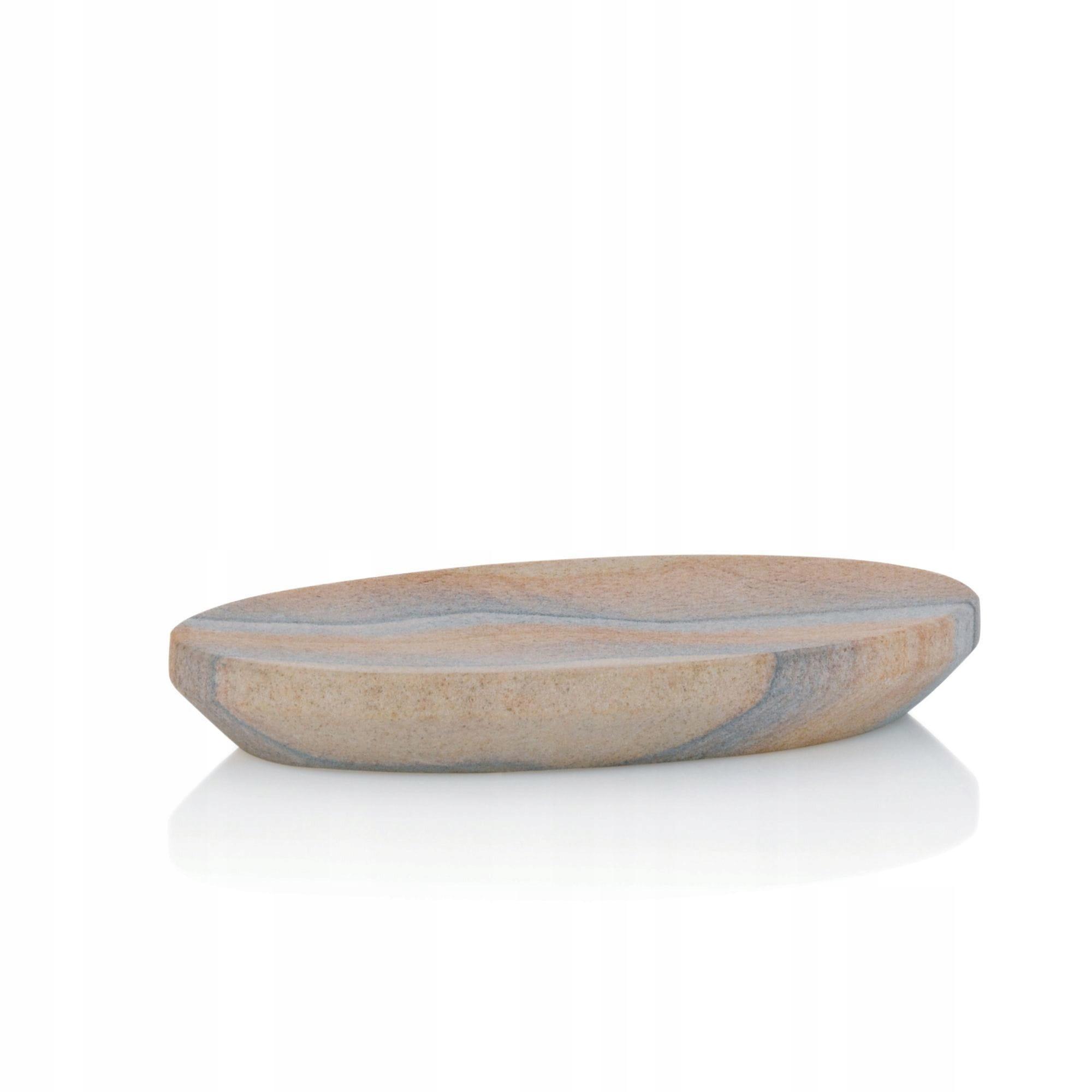 Miska na mydlo Kela Dune, pieskovec, 15,5 x 9 cm