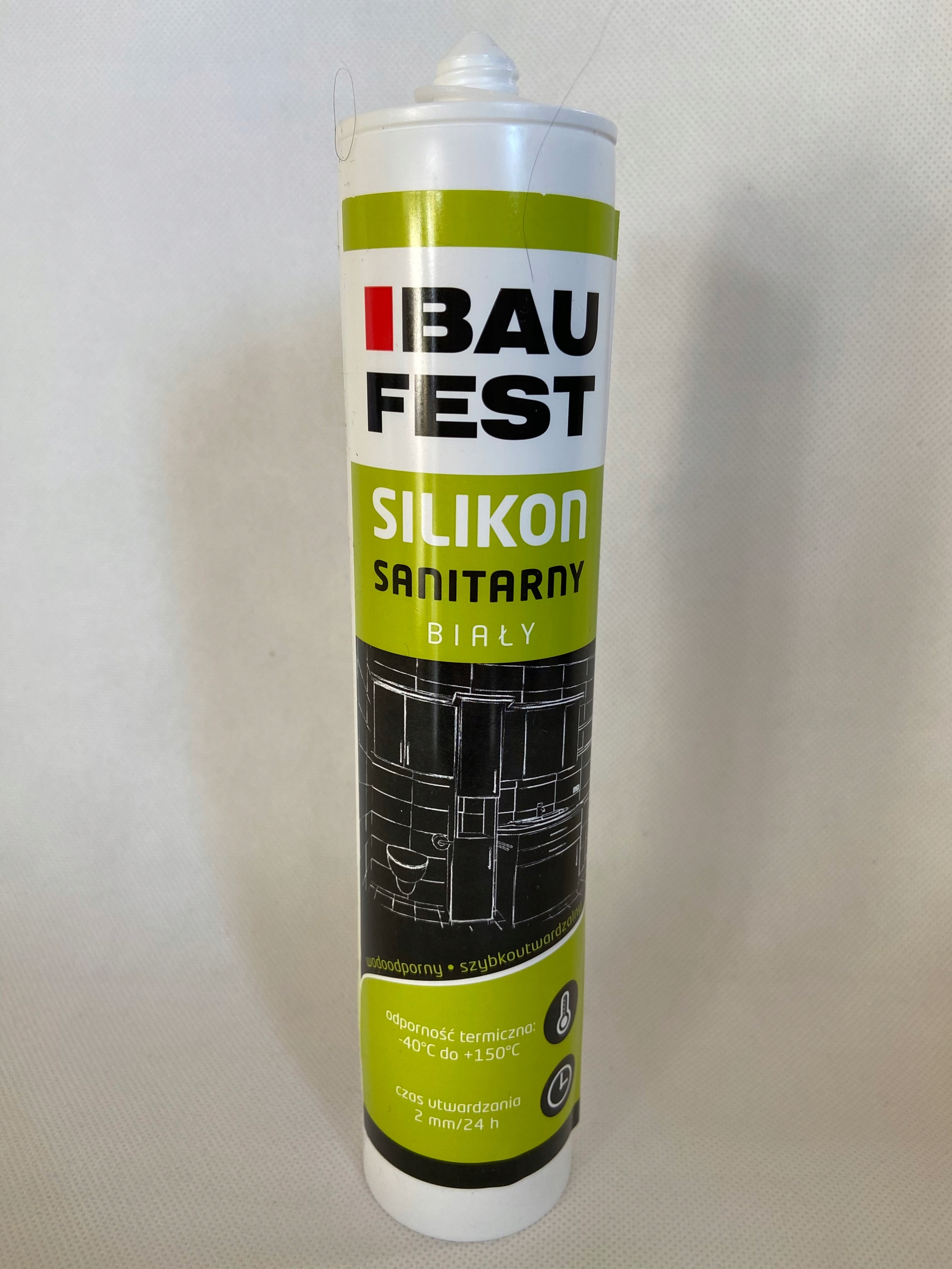 SILIKON BAUFEST - SANITARNY BIAłY280ML
