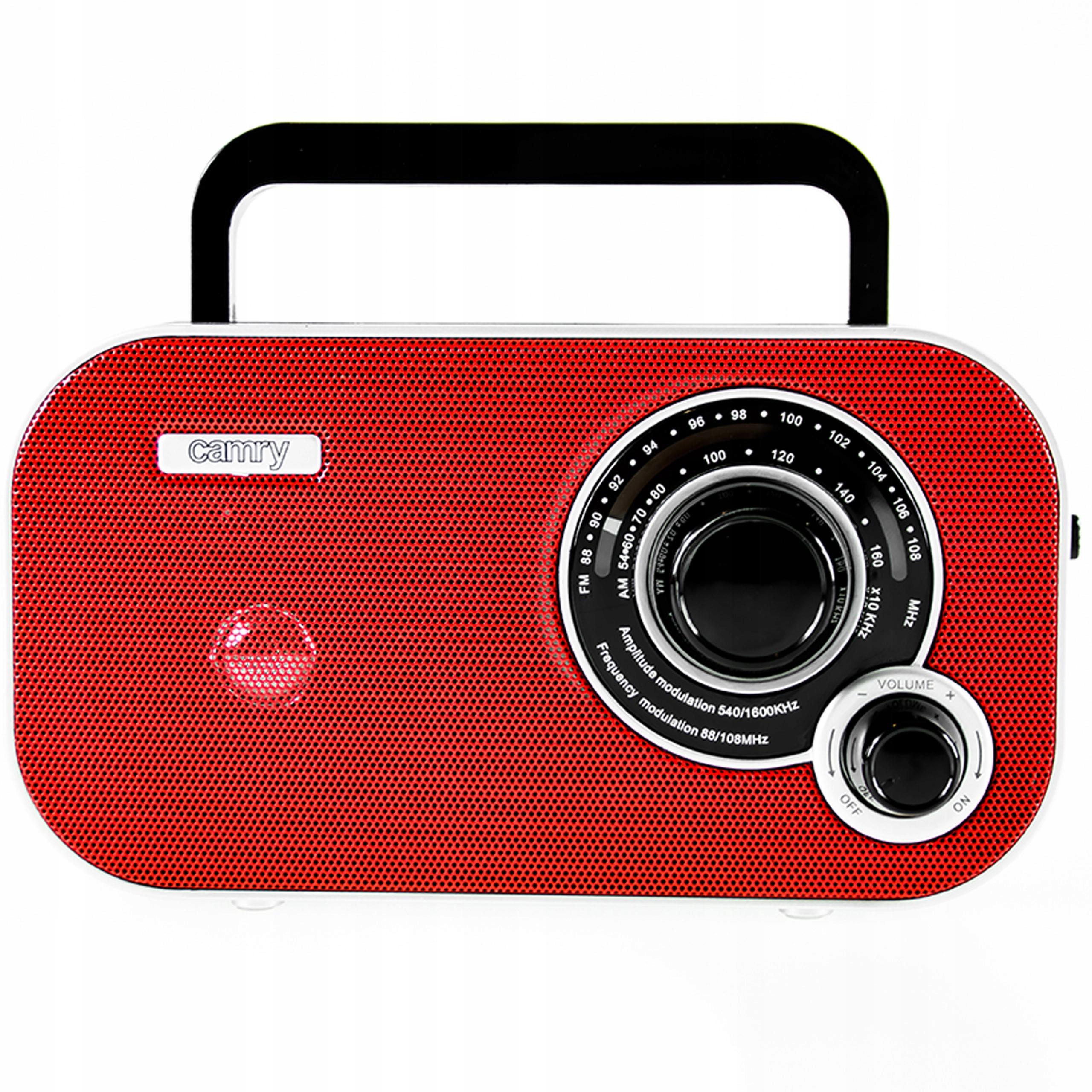 Небольшое портативное кухонное радио AM / FM RETRO