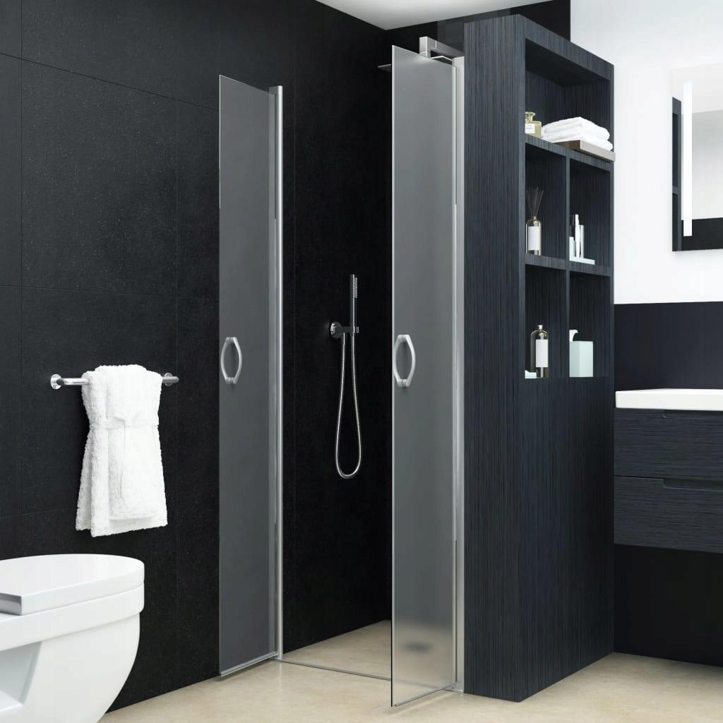Sprchové dvere, matné, ESG, 85 x 185 cm