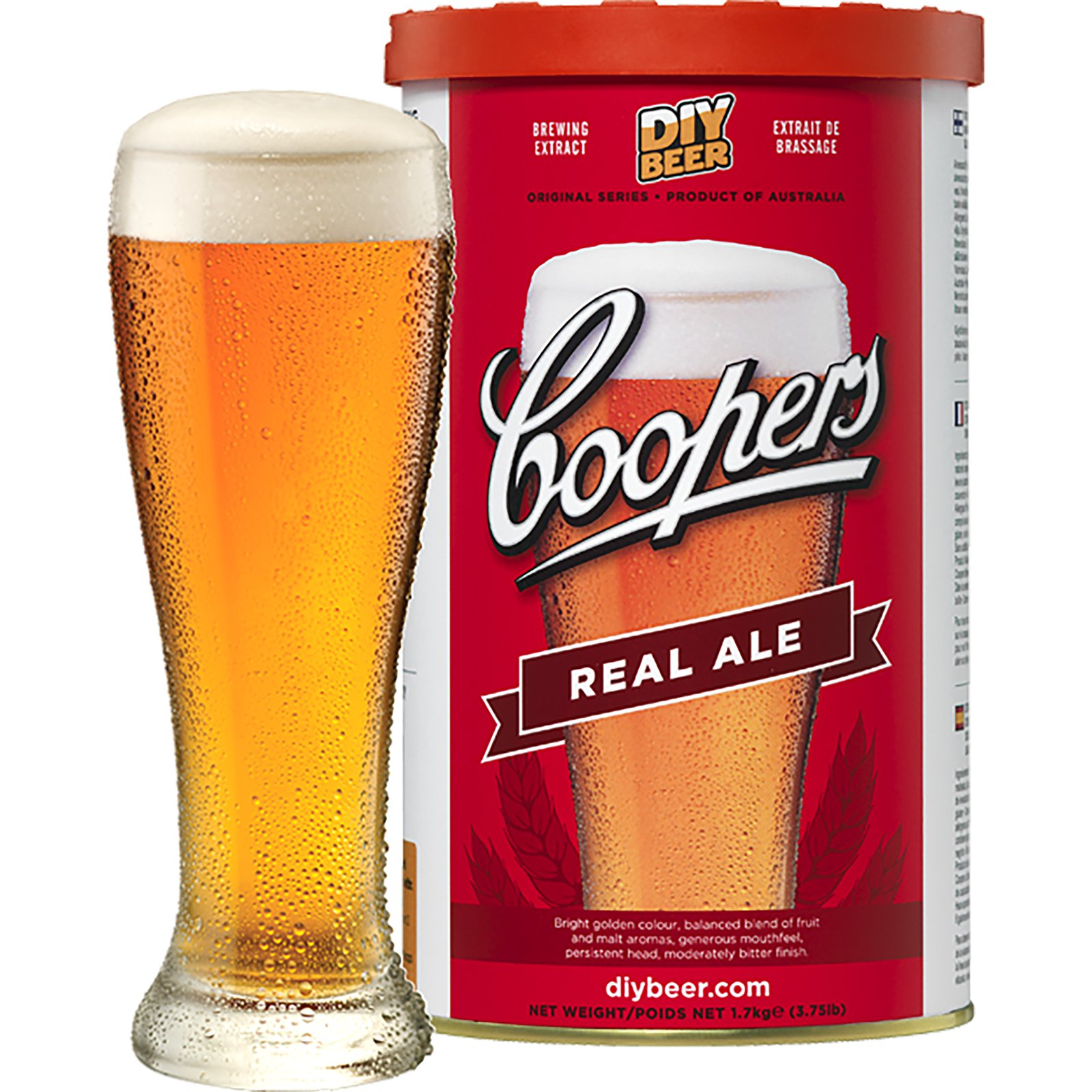 ДОМАШНИЕ ПИВО BREWKIT COOPERS Real Ale + дрожжи 23л