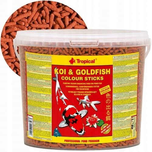 ЦВЕТНЫЕ ПАЛОЧКИ Tropical KOI & GOLDFISH 5L - 430g