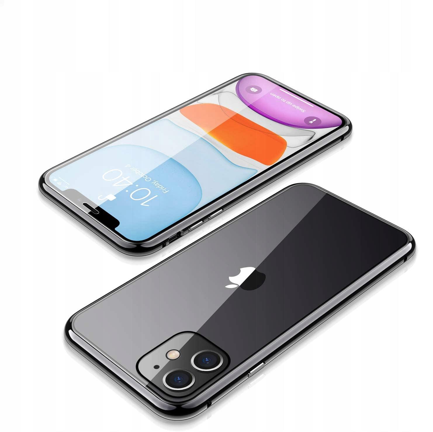 Etui Magnetyczne 360° do iPhone 12 Mini Materiał tworzywo sztuczne
